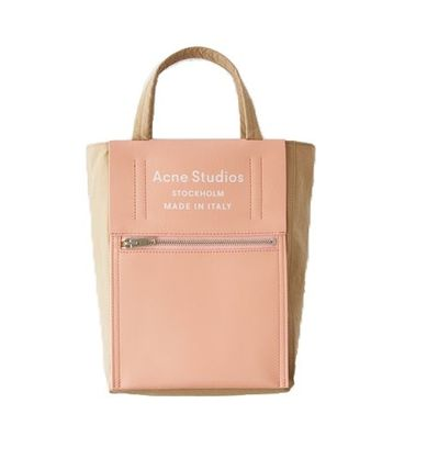 Acne Studios Baker Out S Pink ミディウムトートバッグS ピンク