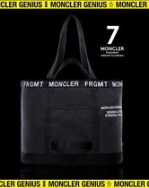 20/21AW新作!【MONCLER GENIUS FRAGMENT】ロゴ入りトートバッグ