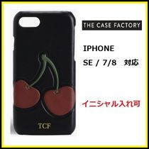 THE CASE FACTORY★IPHONE SE/7/8カーフチェリー【国内発送】