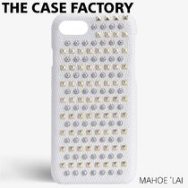 THE CASE FACTORY IPHONE SE/7/8 MIXED STUDS LIZARD ケース