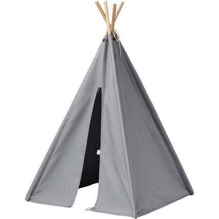 Kids Concept(キッズコンセプト) キッズテント・プレイテント 日本発送☆北欧☆ミニテント グレー Mini Tipi Tent