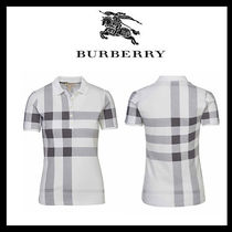 ☆関税送料無料☆ Burberry Brit Poloshirt black & white