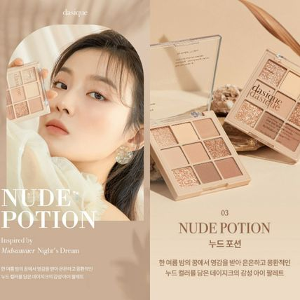 ◆DASIQUE◆SHADOW PALETTE 03 NUDE POTION◆人気 新商品