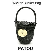 △国内発送・関税込△PATOU△Wicker Bucket Bag