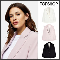 【TOPSHOP】クリーンクレープブレザー