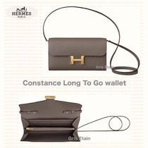 *HERMES*Constance Long To Go wallet /グリスエタン