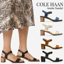 COLE HAAN★Anette 快適 クッション スエード/レザー サンダル