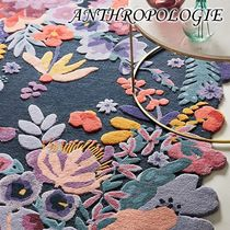 お洒落★ANTHROPOLOGIE★Tufted Jardin ラグ 91.5×152.5cm
