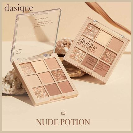◆DASIQUE◆ SHADOW PALETTE NUDE POTION シャドウパレット 人気