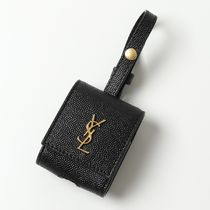 SAINT LAURENT  AirPodsケース チャーム 612111 1GF0J 1000