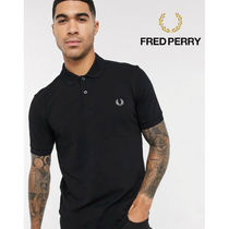 FRED PERRY(フレッドペリー) ポロシャツ (関税送料込み) fred perry black polo shirt ポロシャツ