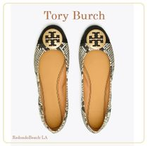 SALE!!★★Tory Burch★★MINNIE CAP-TOE TRAVEL BALLET FLAT