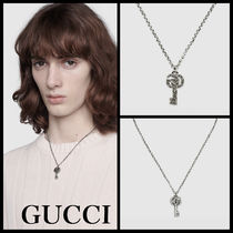 [GUCCI]* Double G key* シルバーネックレス