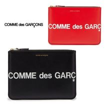 COMME DES GARCONS | ロゴプリント レザーポーチ