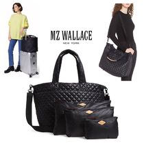MZ WALLACE(エムジーウォレス) トートバッグ MZ WALLACE★スーツケースに固定OK!DELUXE LARGE METRO TOTE