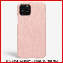 関税送料込☆THE CASEFACTORY☆IPHONE 11 PRO MAX LIZARD ROSA