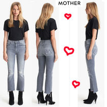 マザーの美脚ジーンズ ★ Insider Crop Step Fray Jeans