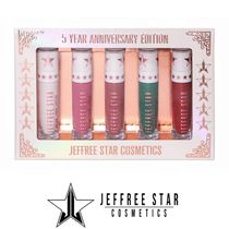JEFFREE STAR COSMETICS☆5 YEAR ANNIVERSARY マットリップ5本