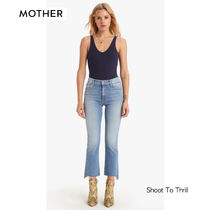 マザー ★ Insider Crop Step Fray Jeans ★ Shoot to Thrill