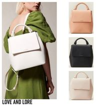 Love and lore*BRAIDED HANDLE BACKPACK*2WAYリュック♪