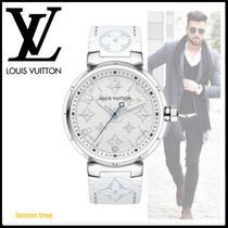 《Louis Vuitton》TAMBOUR MONOGRAM WHITE 41.5 MY LV TAMBOUR