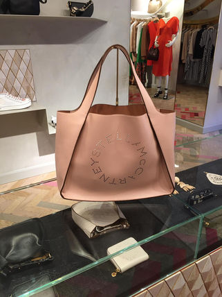 Stella McCartney トートバッグ Stella McCartney☆Stella Logo Tote Bag☆ロゴトート☆送料込(18)