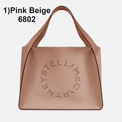 Stella McCartney トートバッグ Stella McCartney☆Stella Logo Tote Bag☆ロゴトート☆送料込(3)