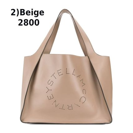 Stella McCartney トートバッグ Stella McCartney☆Stella Logo Tote Bag☆ロゴトート☆送料込(5)