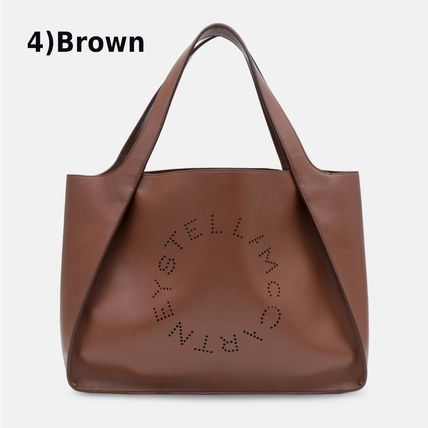 Stella McCartney トートバッグ Stella McCartney☆Stella Logo Tote Bag☆ロゴトート☆送料込(9)