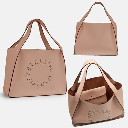 Stella McCartney トートバッグ Stella McCartney☆Stella Logo Tote Bag☆ロゴトート☆送料込(4)