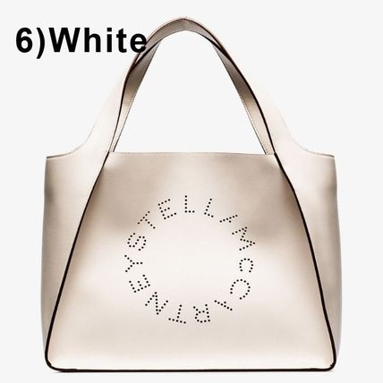Stella McCartney トートバッグ Stella McCartney☆Stella Logo Tote Bag☆ロゴトート☆送料込(12)