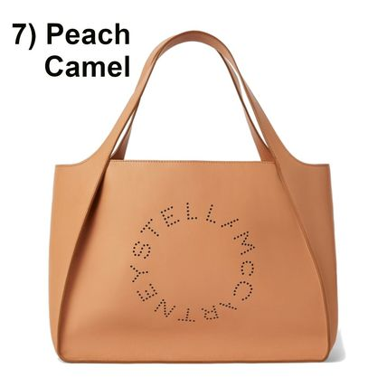 Stella McCartney トートバッグ Stella McCartney☆Stella Logo Tote Bag☆ロゴトート☆送料込(14)