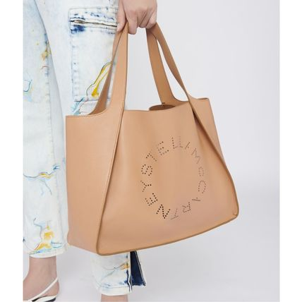 Stella McCartney トートバッグ Stella McCartney☆Stella Logo Tote Bag☆ロゴトート☆送料込(15)