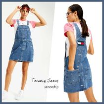 Tommy Jeans*Classic Dungareeショートスカート*Blue*送料込