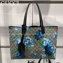 GUCCI☆大人気♪GG BLOOMS/SELL 花柄リバーシブルトート☆546317