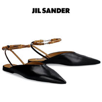【JIL SANDER】 SS20 LEATHER SANDALS レザー サンダル