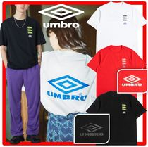 ☆人気☆【UMBRO(アンブロ)】☆QUADRUPLE LOGO T-SHIRT☆3色☆