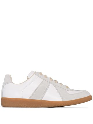 Maison Margiela:German Army Trainers レプリカスニーカー 白