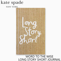 【kate spade】LONG STORY SHORT JOURNAL【国内配送】