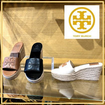Tory Burch☆ WESTON 80MM WEDGE SLIDE サンダル☆送料込