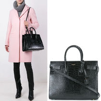 WSL1741 SAC DE JOUR SMALL IN CROCODILE EMBOSSED LEATHER