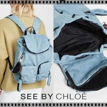 即発★See by Chloe★Joyrider Denim Backpack デニム リュック