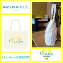 【MAISON KITSUNE × bills Hawaii 】トートバッグ