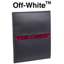 Off-White カードケース FOR CARDS OMND005S20853037-1020