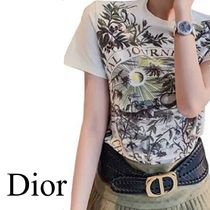 DIOR THE BRUTAL JOURNEY OF THE HEART プリント Tシャツ