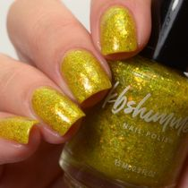 KBShimmer☆可愛いネイル(Living My Zest Life Flakie Nail)