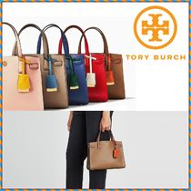 ★即発★TORY BURCH WALKER SMALL SATCHEL トートバッグ