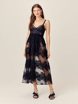For Love & Lemons for Victoria's Secret☆Azalea Maxi Dress