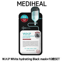 MEDIHEAL W.H.P White hydrating Blackmask★10枚SET国内発送★