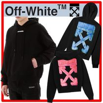 ★OFF-WHITE★MARKER ARROWS OVER HOODIE★人気★2色★